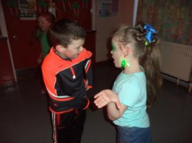 St. Patrick's Day Disco Fun!