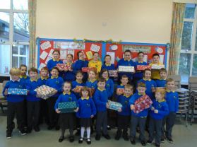Shoe box appeal  Christmas 2017