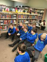 Christmas Library Visit